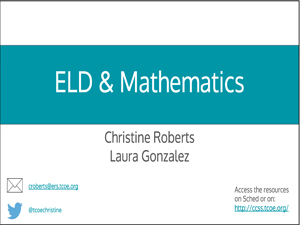 eld-mathematics-preso